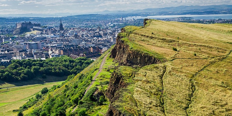 Arthurs Seat in Holyrood Park