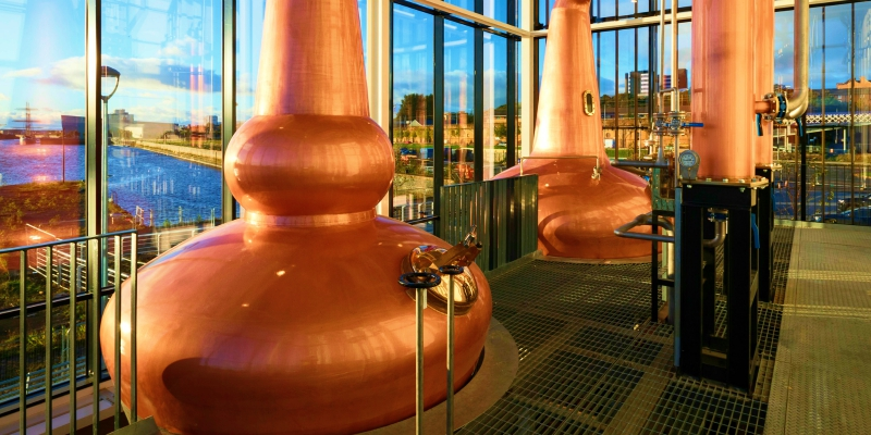 Clydeside Distillery - Glasgow Luxury Private Sightseeing Excursion