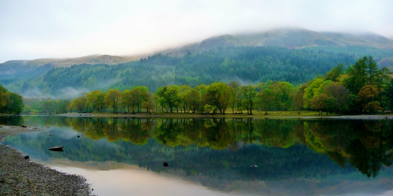 Loch Lubnaig in the Trossachs National Park