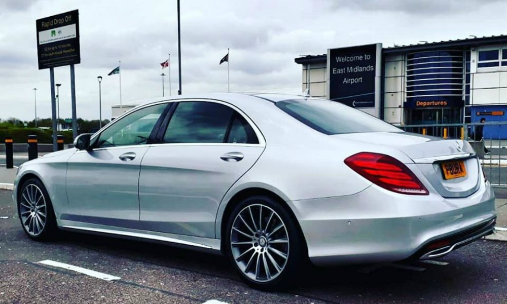Luxury Airport Transfer to East Midlands Airport in the UK
