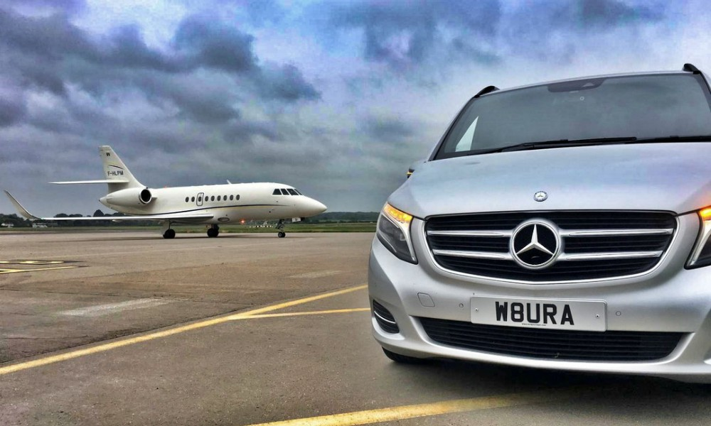 VIP Transport Services for Celebrities from their Private Jet in the UK